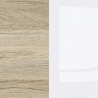 san remo oak light/white high gloss