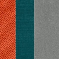 Amore 44 Orange/Amore 6 Turquoise/Salvador 17 Grey